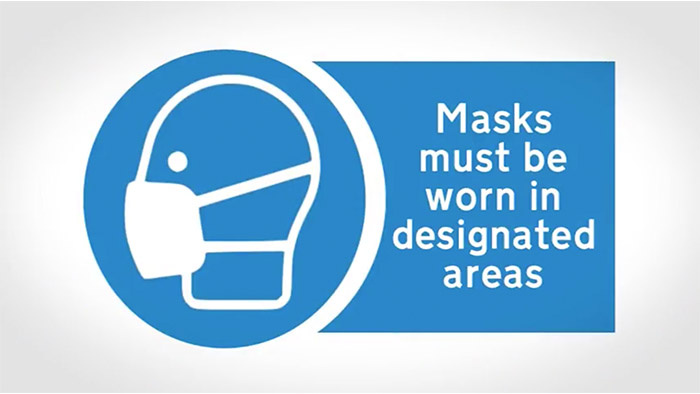 Safety Mask Sign