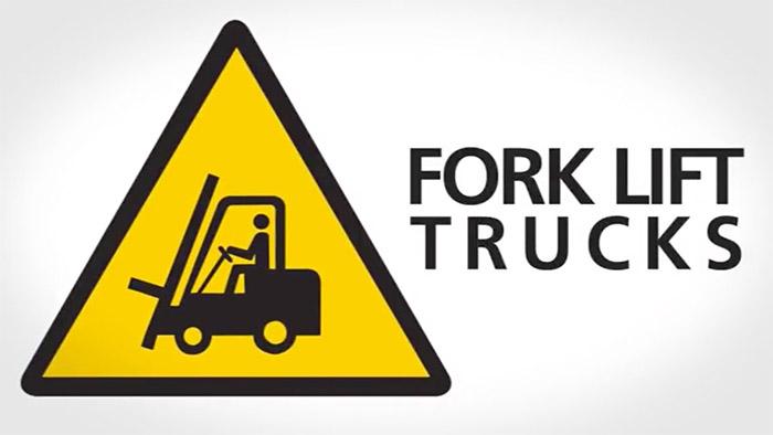 Fork Lift Safety Sign
