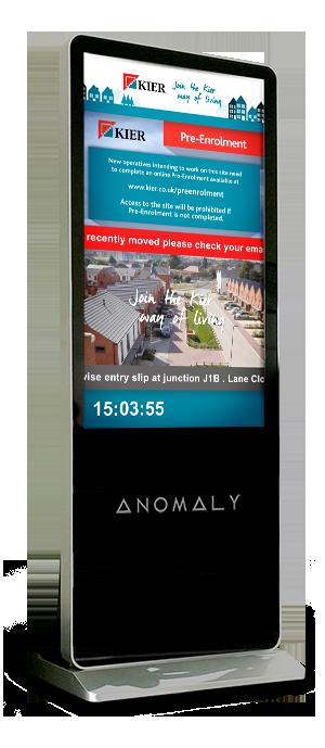 Anomaly Screen Kier